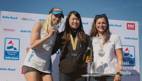 Doi wins gold in 33rd Delta Lloyd Regatta Laser Radial sailing, the Netherlands