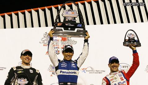 Takuma Sato wins the Indy Grand Prix of Gateway!