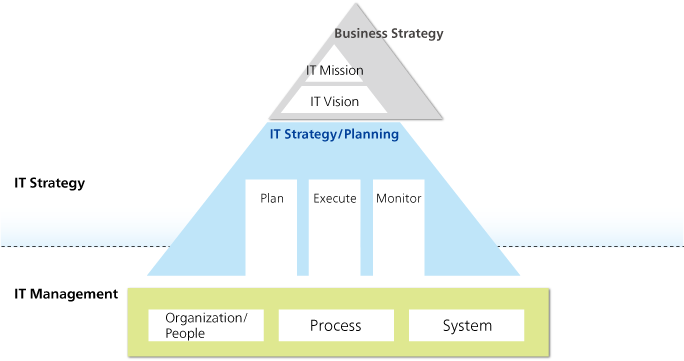 IT Strategy/IT Planning Services Map