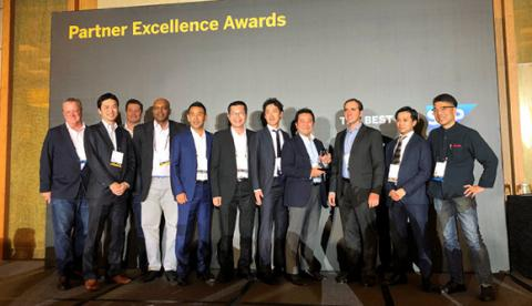 "ABeam Consulting was awarded ""SAP APJ AWARD for Partner Excellence 2020 for SAP S/4HANA®"" at ""SAP APJ AWARD for Partner Excellence 2020"""
