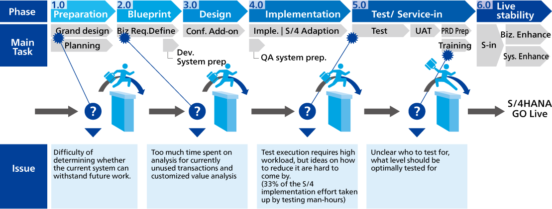 Process issues in SAP S/4HANA® Migration