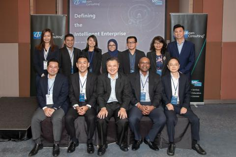 "ABeam Consulting Malaysia held an event themed ""Defining the Intelligent Enterprise """