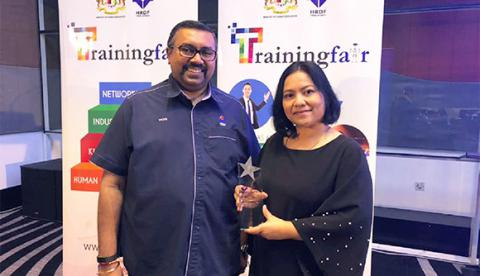 ABeam Malaysia received a 5 Star Rated Training Provider 2017