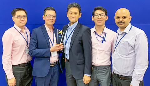 ABeam Singapore received a SAP Highest DRS Revenue 2018 Award